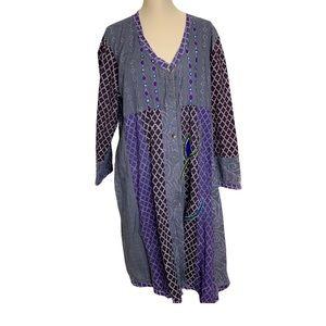 Dignity Not Charity Sz 1W Long Dress